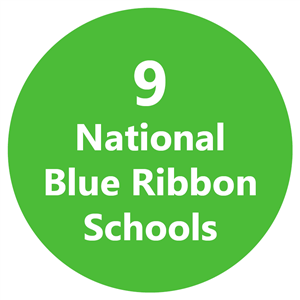9 National Blue Ribbon Schools