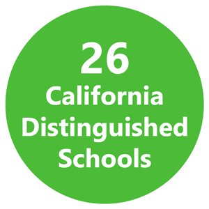26 California Distinguished Schools