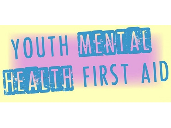Youth Mental Health First Aid Coming Up