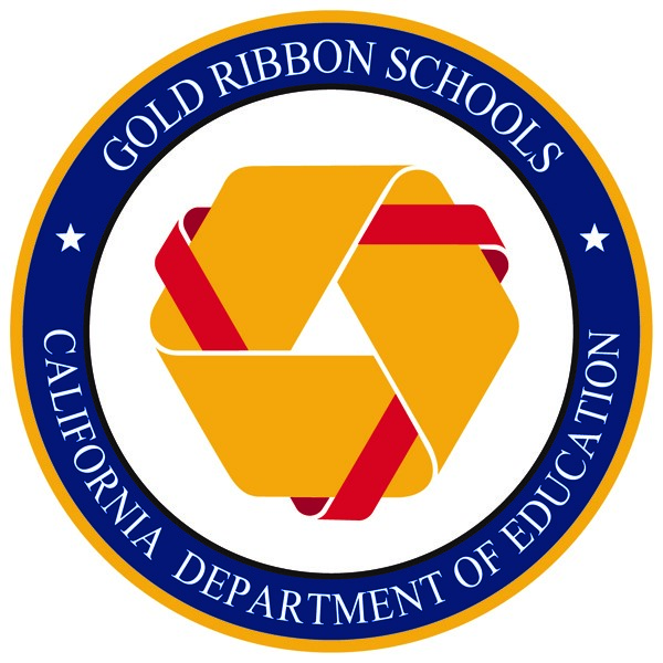 California Gold Ribbon Seal