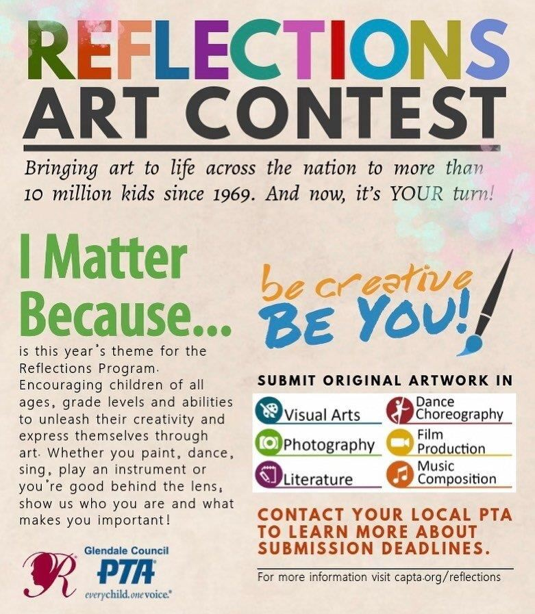 Reflections Art Contest