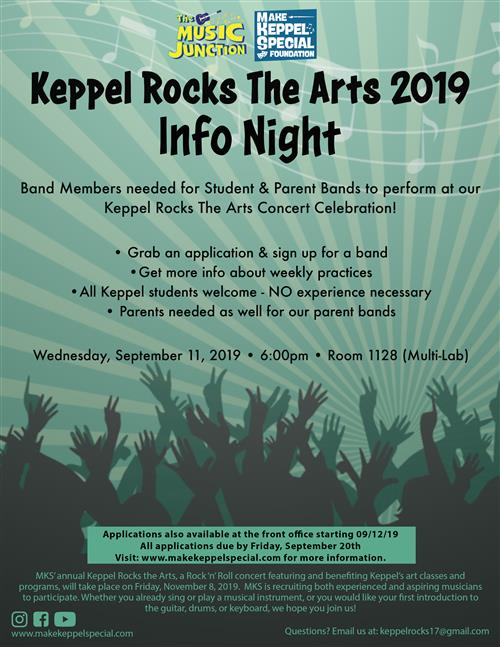 Keppel Rocks The Arts Click Here For Information