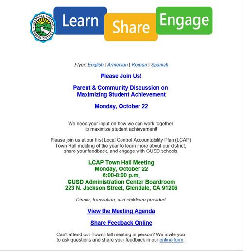 Learn Share Engage