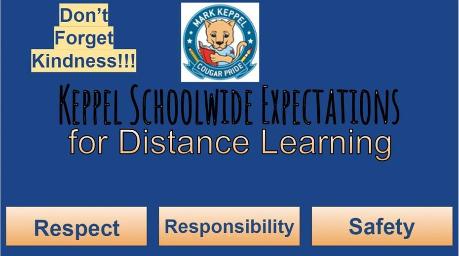 PBIS Distance Learning Expectations