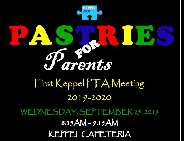 PTA Association Meeting 9/25/19 Click Here for Information