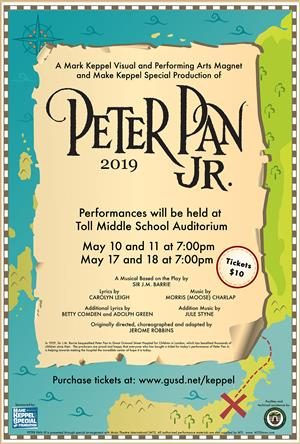 Purchase your Peter Pan Tickets Click Here