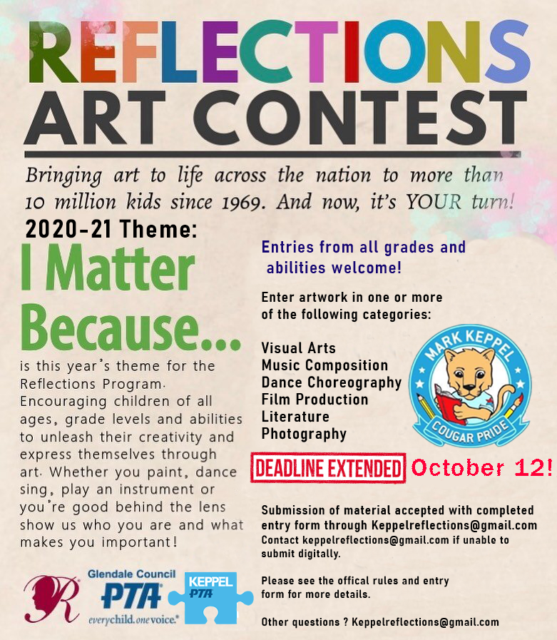 Reflections Art Contest: Calling All Students!