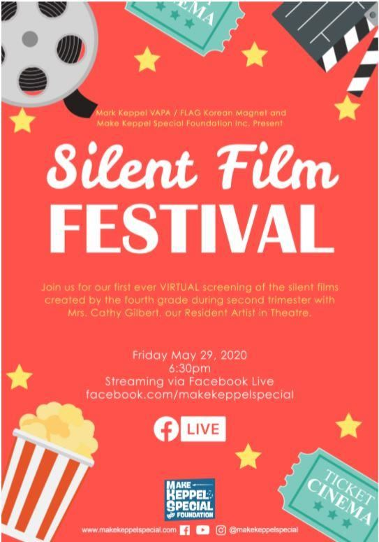 Silent Film Festival video is available if you missed it