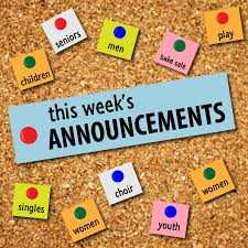 Keppel Weekly Announcements March 10