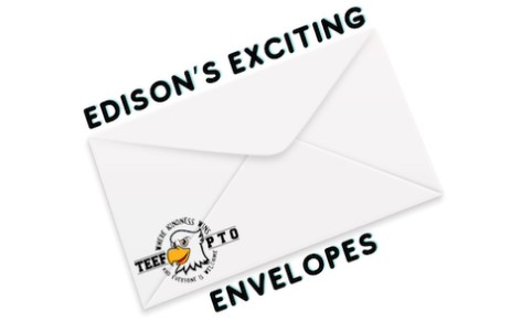 Edison's Exciting Envelope Fundraiser