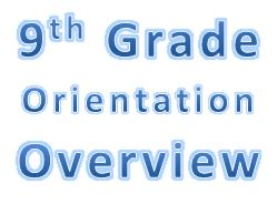 9th Grade Orientation Overview Powerpoint