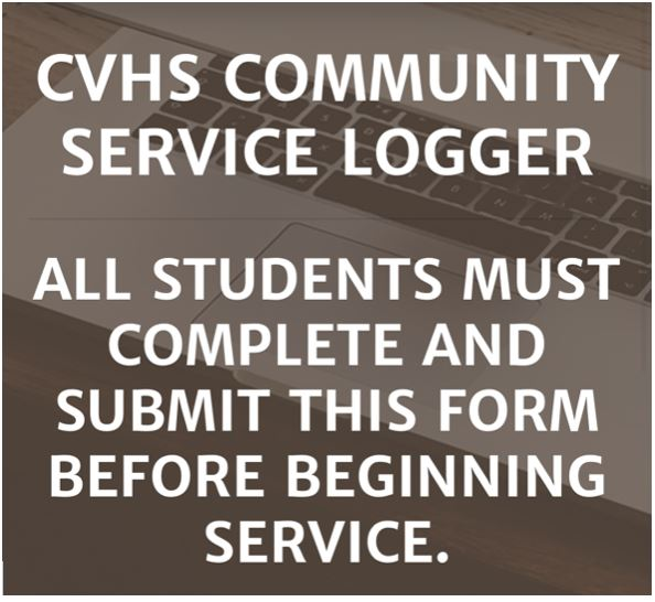 NEW CVHS Community Service Hours Log Website