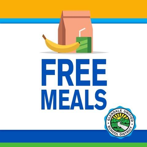 GUSD Free Meals Begins March 24th