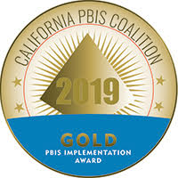 California PBIS Gold Award