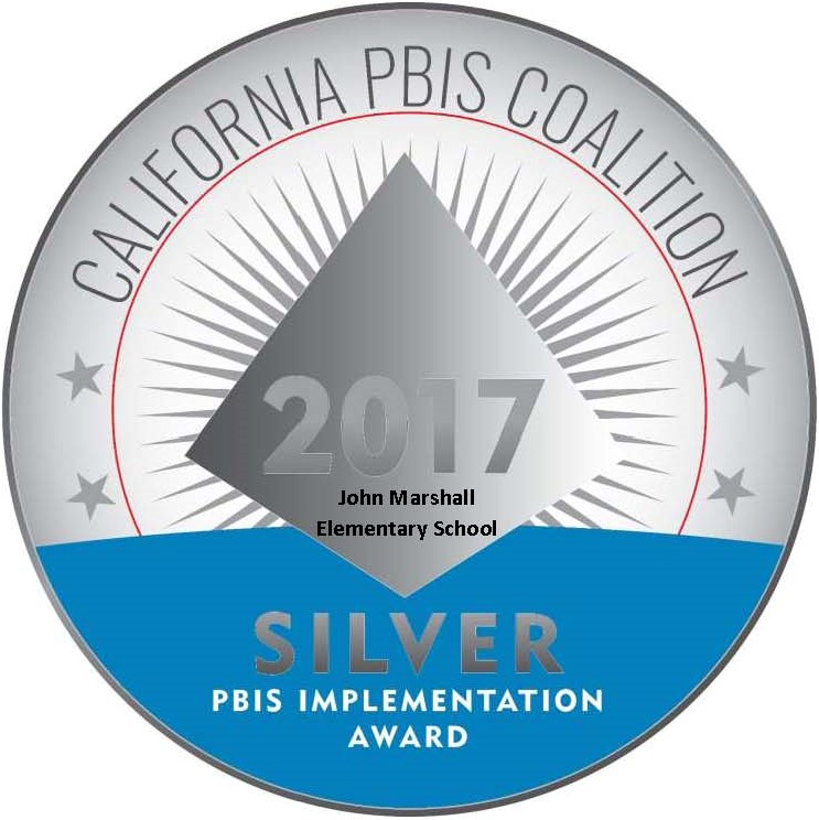 California PBIS Coalition Silver Award