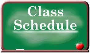 Distance Learning Schedules