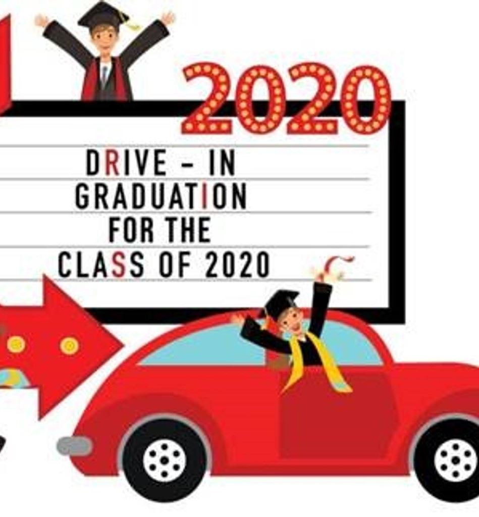 Graduation Drive By Ceremony Photos 2020