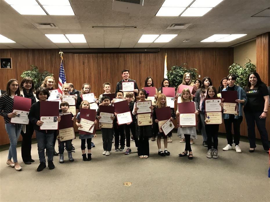 2019 PTA Reflections Winners