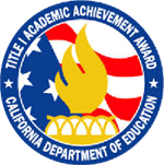 Cerritos Elementary received the Title 1 Academic Achievement Award for 2016. We are Achieving Excellence Together!