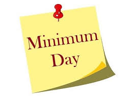 Minimum Day, March 13, 2020