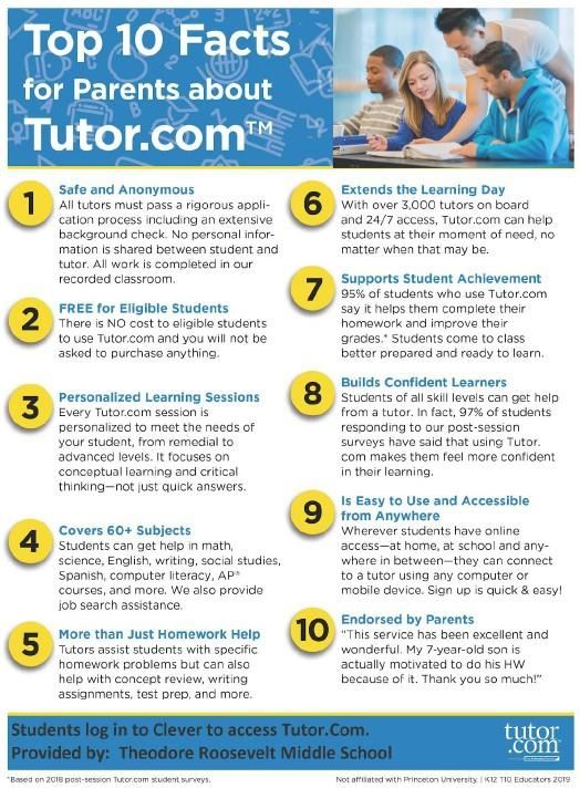 Tutor.com for parents