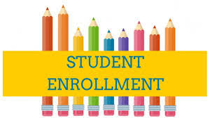 Enrollment for new students begins 2/25 from 9 am - 3 pm