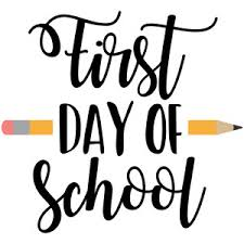 First Day of School  8/19/20