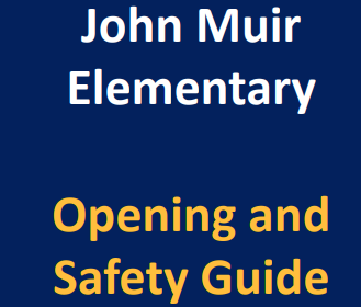 Opening and Safety Guide for Families and Students