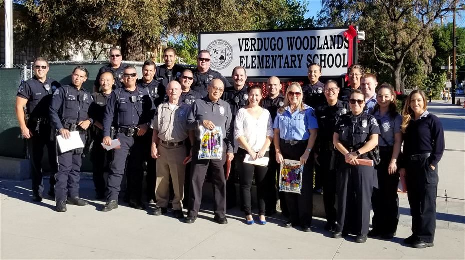 GUSD Cops for Kids Visits VW!