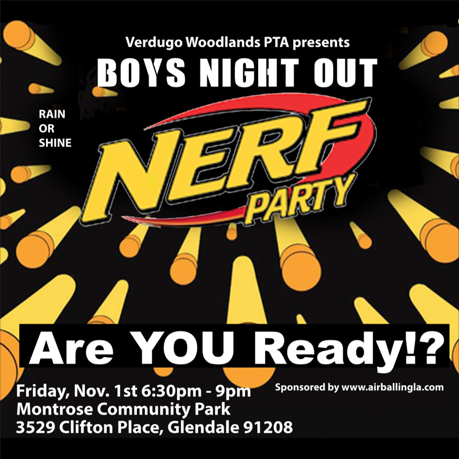 Boys' Night Out: Nerf Party!