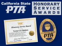 VW PTA Honorary Service Awards