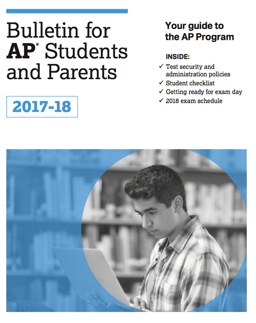 2017-18 AP Exam Information and Policies