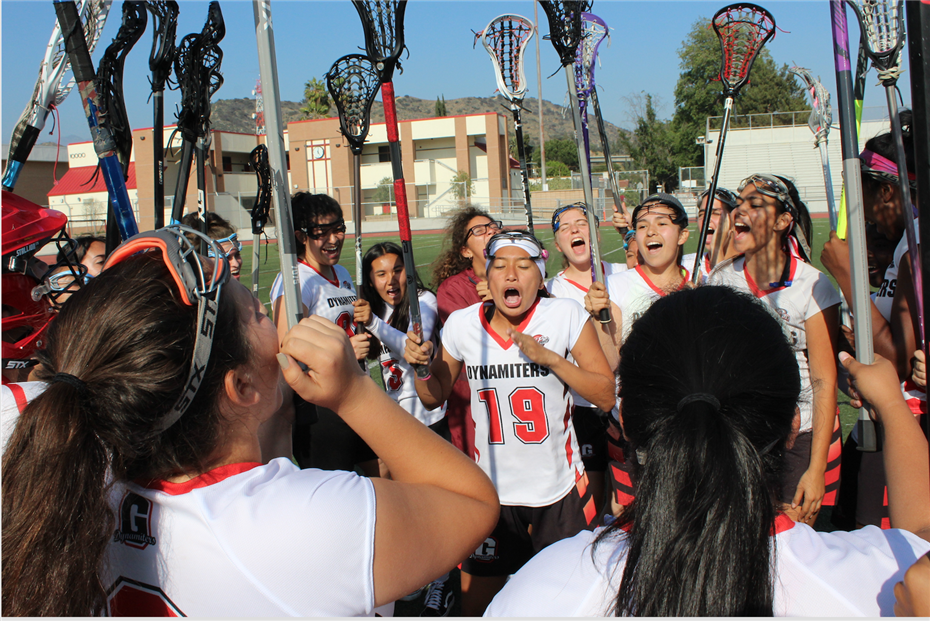 Glendale High Girls' Lacrosse Team Wins Pacific League Championship!