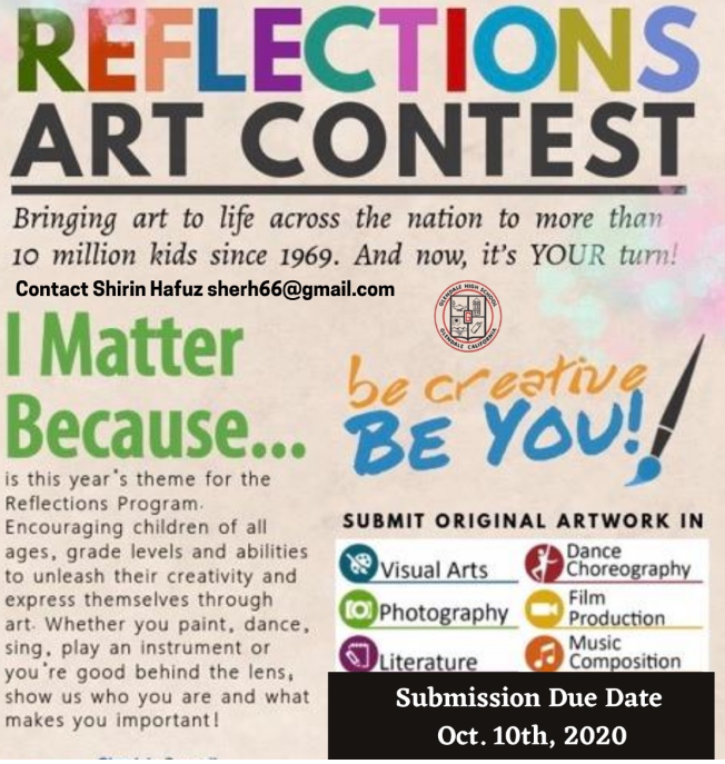 PTSA Reflections Art Program