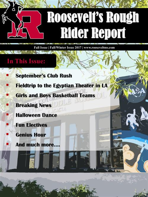 Roosevelt's Rough Rider Report Fall Issue