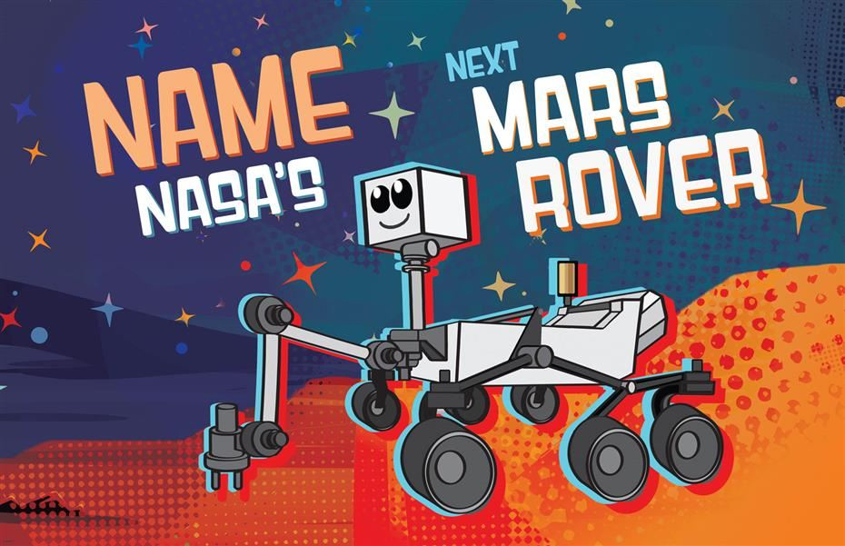 Want the Opportunity to Help Name the New Mars Rover?