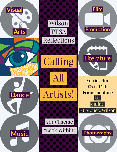 PTSA Reflections Contest