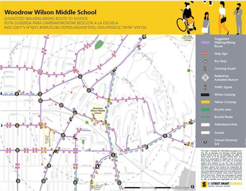 Safe Routes to School Maps
