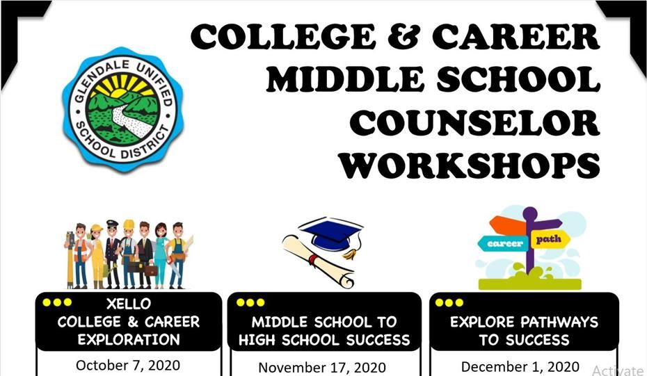 COLLEGE & CAREER MIDDLE SCHOOL COUNSELOR WORKSHOP