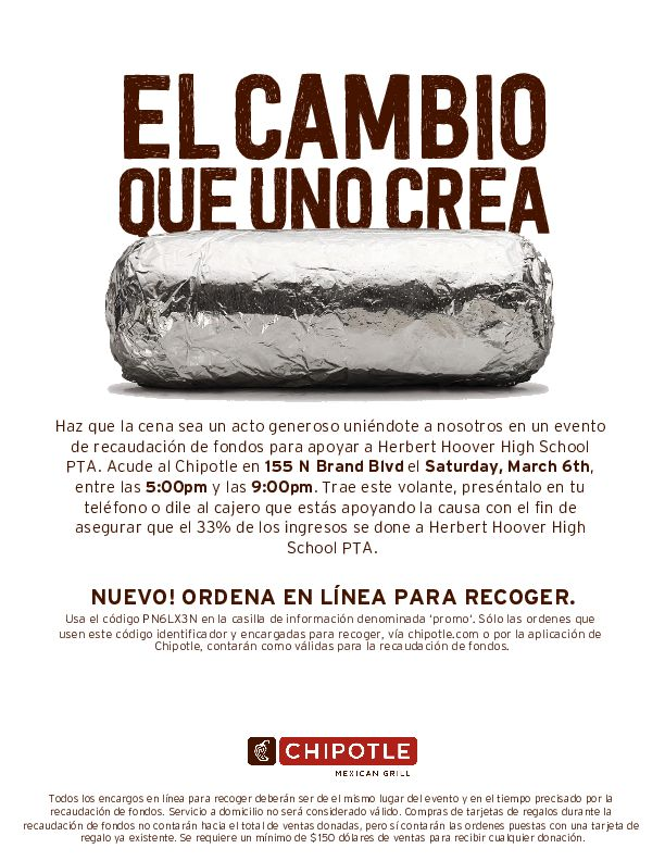 SPANISH CHIPOTLE FLYER