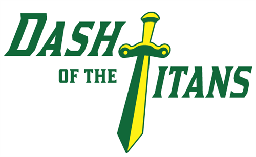 Dash of the Titans logo