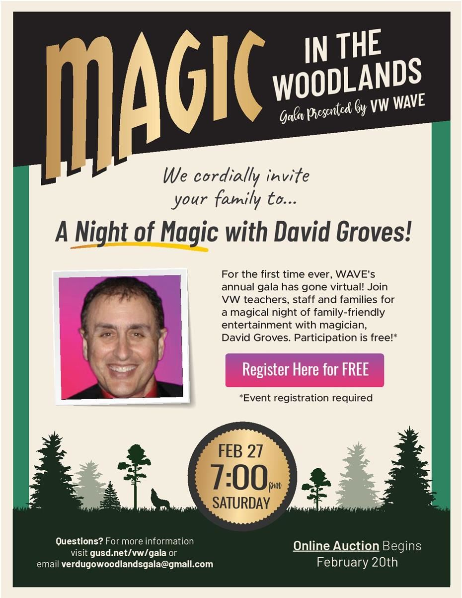 Magic in the Woodlands