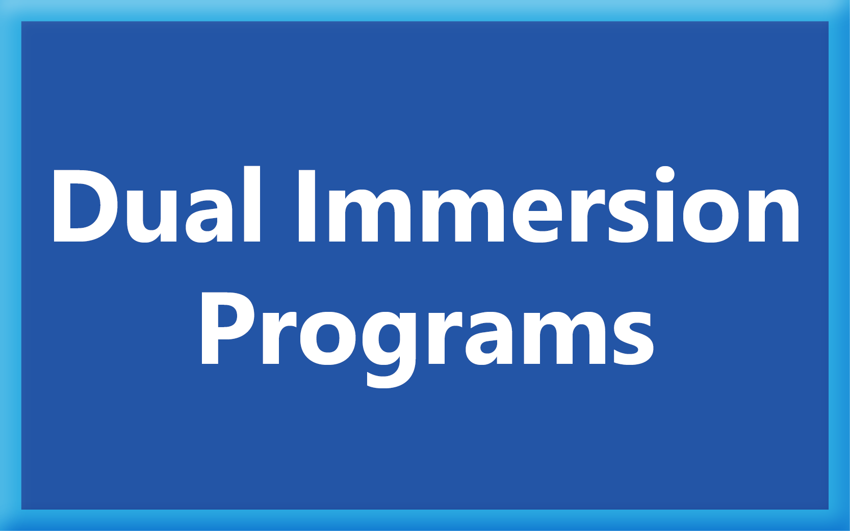 Dual Immersion Programs
