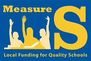 Measure S Logo - Local Funding for Quality Schools
