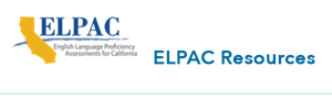 ELPAC Resources