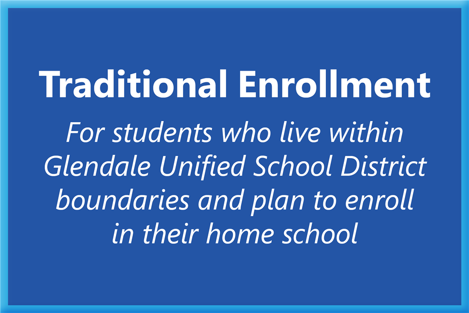 Traditional Enrollment