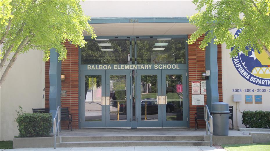 Balboa Elementary School / Homepage