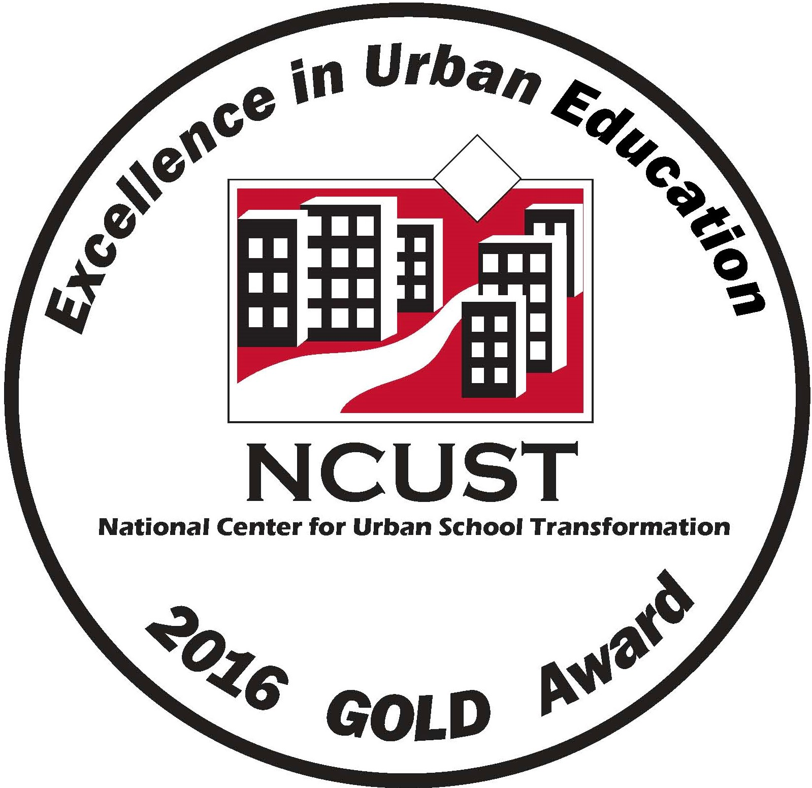 NCUST 2016 Gold Seal Award